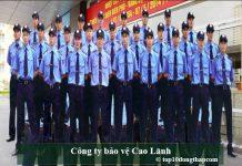 Công ty bảo vệ Cao Lãnh