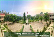 Trường THPT tại Cao Lãnh